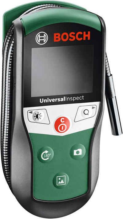 BOSCH »UniversalInspect« Inspektionskamera (mit Batterien, Haken, Magnet, Spiegel und 2 Hülsen zum Fixieren des Zubehörs, 8 mm)
