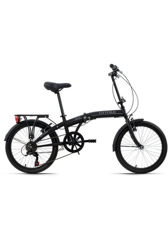 KS Cycling Dviratis »Cityfold« 6 Gang Shimano Tou...