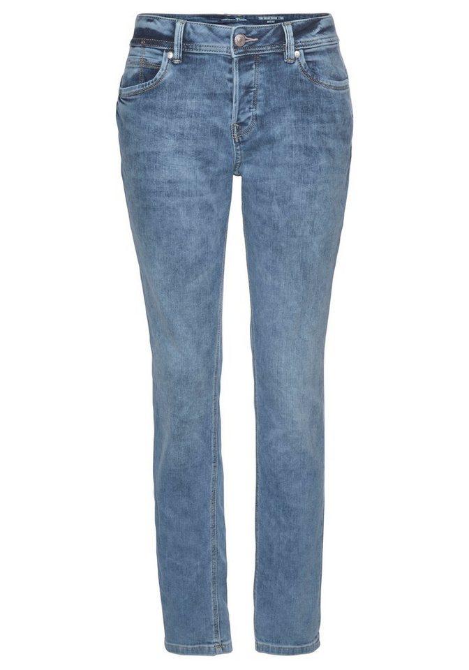 tom tailor denim -  Boyfriend-Jeans »LYNN ANTIFIT« mit tieferem, bequemem Schnitt