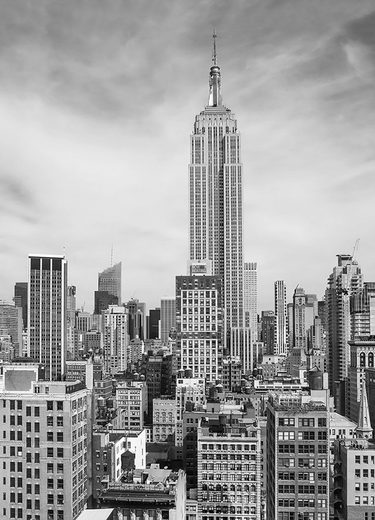IDEALDECOR Fototapete »The Empire State«, 4-teilig, 183x254 cm
