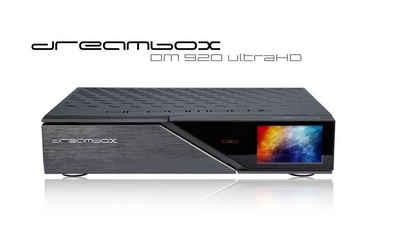 Dreambox »Dreambox DM920 UHD 4K E2 Linux PVR Receiver mit 1« Satellitenreceiver