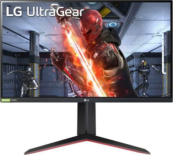 "LG UltraGear™ 27GN650 Gaming-Monitor (68 cm/27 "", 1920 x 1080 Pixel, Full HD, 1 ms Reaktionszeit, 144 Hz, TFT-LCD)"