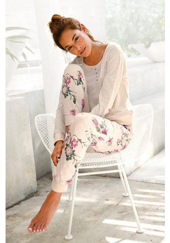 Buffalo Pižama su Blumenprint in N-Größen