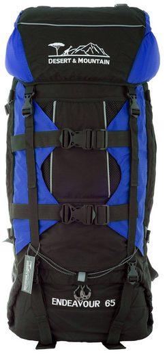 DESERT & MOUNTAIN Trekkingrucksack »Trekking Rucksack Wanderrucksack Endeavour - 65 Liter«