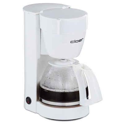 Cloer Filterkaffeemaschine 5011 Kaffeemaschine weiß