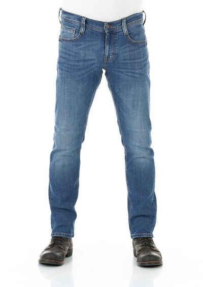 MUSTANG Tapered-fit-Jeans »Oregon« Jeanshose mit Stretchanteil