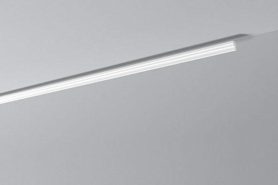 DECOFLAIR Set: Kantenleiste »Decoflair®Zierleiste D2«, 40 Stück, 25 x 15 mm, Länge: 2 m