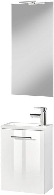 Badezimmer Sets - CYGNUS BATH Badmöbel Set »MICRO«, (3 tlg), Gästebad, Breite 40 cm  - Onlineshop OTTO