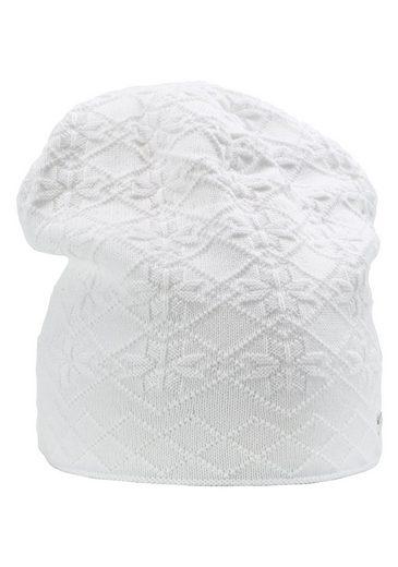 Sätila of Sweden Beanie »Anna« mit hübschem Schneeflockenmuster