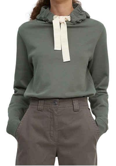 Marc O'Polo Kapuzensweatshirt mit breitem Marken-Bindeband