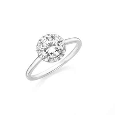 Smart Jewel Verlobungsring »funkelnd mit Zirkonia, Silber 925«