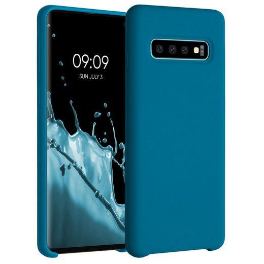 kwmobile Handyhülle, Hülle für Samsung Galaxy S10 - TPU Silikon Handy Schutzhülle Cover Case