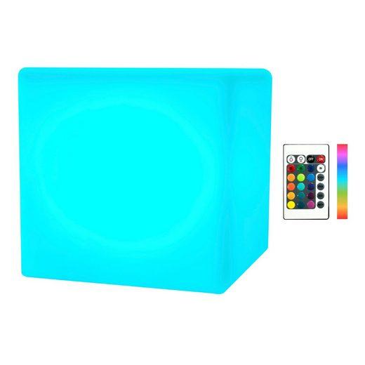 wuuhoo LED Würfel »Solar Würfel-Hocker LED beleuchtet und wetterfest«