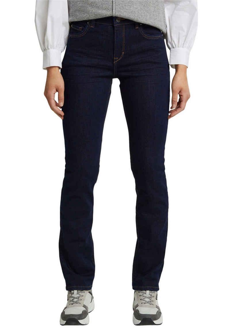 Esprit Stretch-Jeans im 5-Pocket Stil im geraden Shape