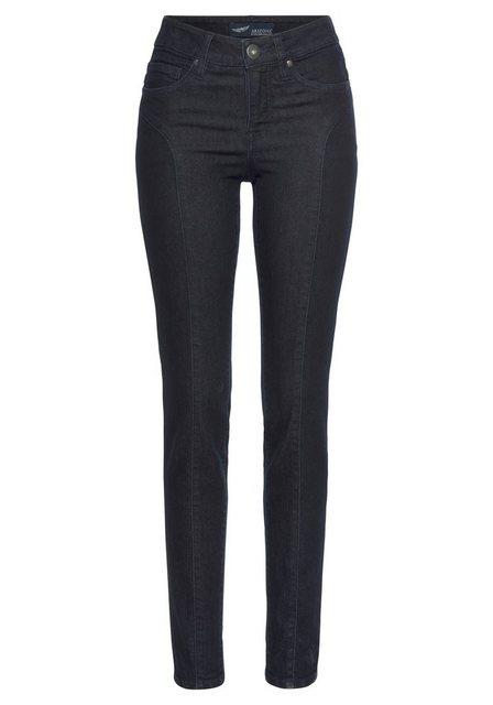 Hosen - Arizona Slim fit Jeans mit modischen Nahtverläufen auf der Front NEUE KOLLEKTION › blau  - Onlineshop OTTO