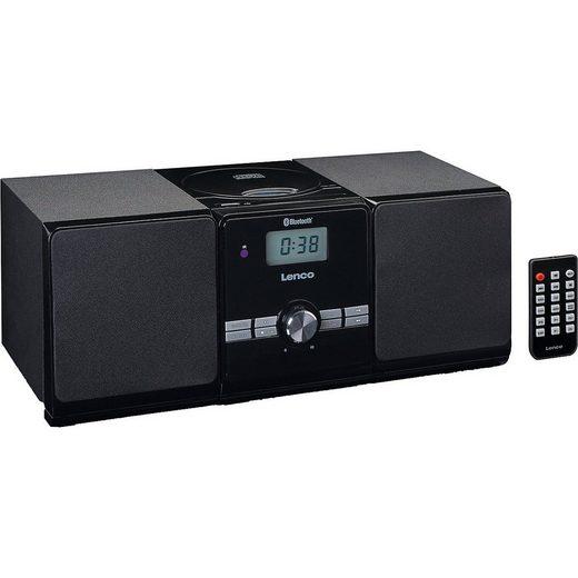 Lenco »MC-030BK - Hifi-Micro-Anlage mit CD/MP3, FM-Radio,« CD-Player