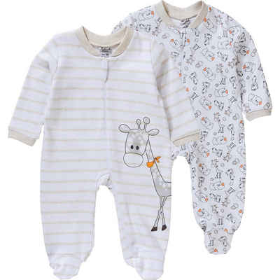 Boley Where the action is!® Schlafanzug »Baby Schlafanzug Doppelpack«