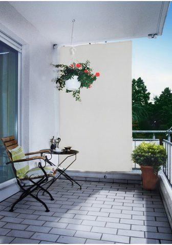 Floracord Senkrechtmarkise BxH: 140x230 cm silbe...