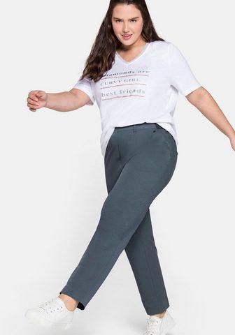 Sheego Laisvos kelnės su Bügelfalte