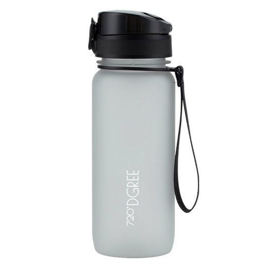 720°DGREE Trinkflasche »uberBottle«, Trinkflasche, Wasserflasche, 650ml, Auslaufsicher, Sportflasche, für Schule, Sport, Fahrrad, mit Fruchteinsatz, Früchtebehälter