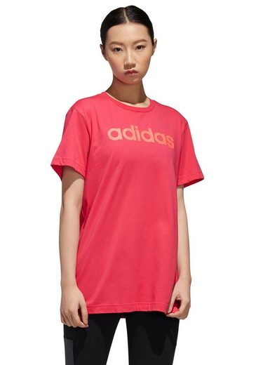 adidas Performance T-Shirt »W E LINEAR LONG TEE«