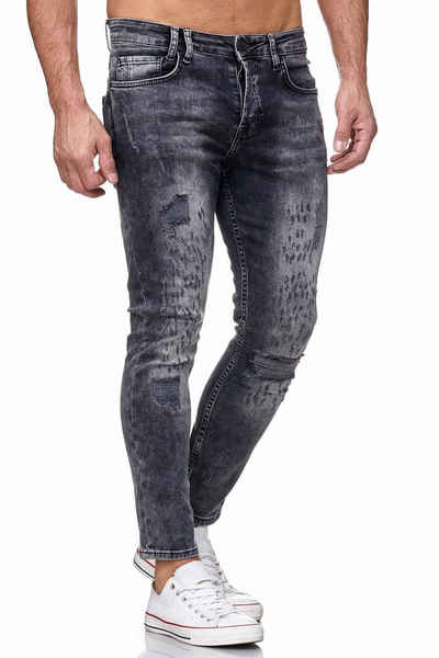 Tazzio Skinny-fit-Jeans »17516« im Destroyed-Look