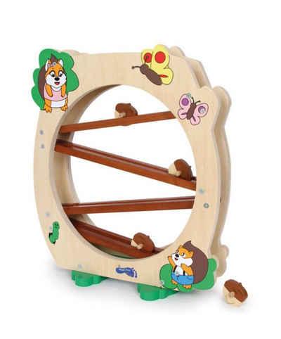 LeNoSa Kugelbahn »Small foot Eichhörnchenbahn • Massivholz Kinderspielzeug • ca. 34 x 12 x 40 cm • Alter 3+«