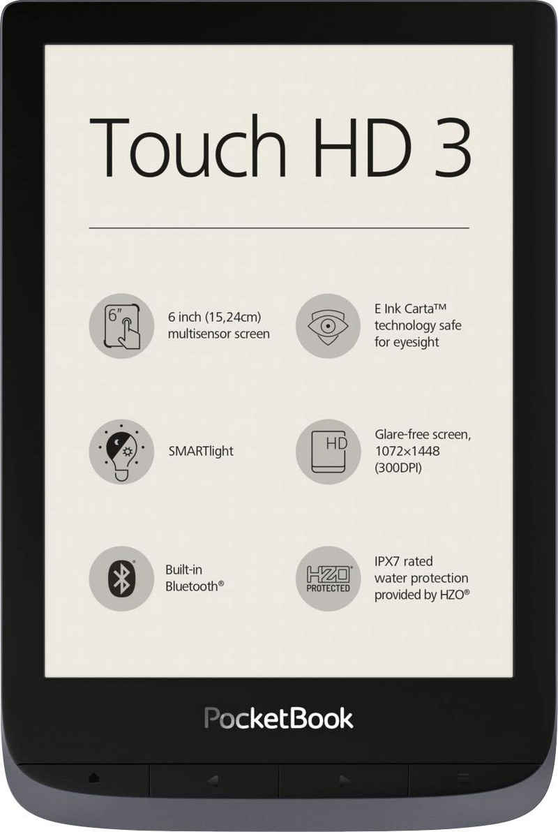 """PocketBook Touch HD 3 E-Book (6"""", 16 GB)"""