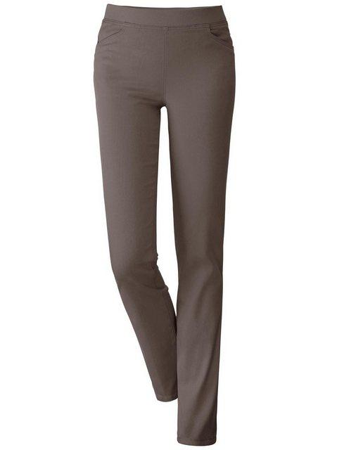Hosen - Classic Basics Stretch Jeans › braun  - Onlineshop OTTO