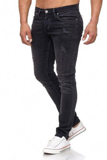 Tazzio Slim-fit-Jeans »17502« im Destroyed-Look