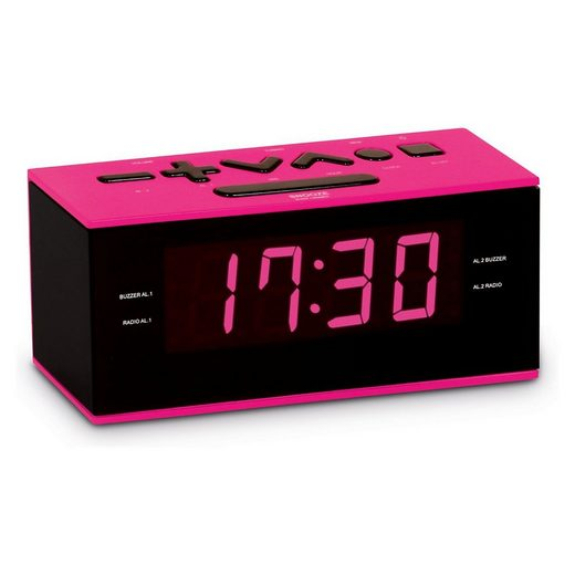 BigBen »Radiowecker RR60, pink« Radiowecker