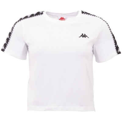 Kappa T-Shirt »INULA« in modisch kurzer Form