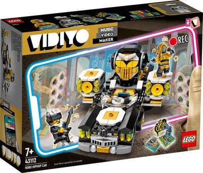 LEGO® Konstruktionsspielsteine »Robo HipHop Car (43112), LEGO® VIDIYO™«, (387 St)