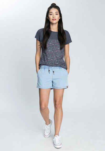 Alife & Kickin T-Shirt trendy Longshirt mit Streifen-oder Musterprints