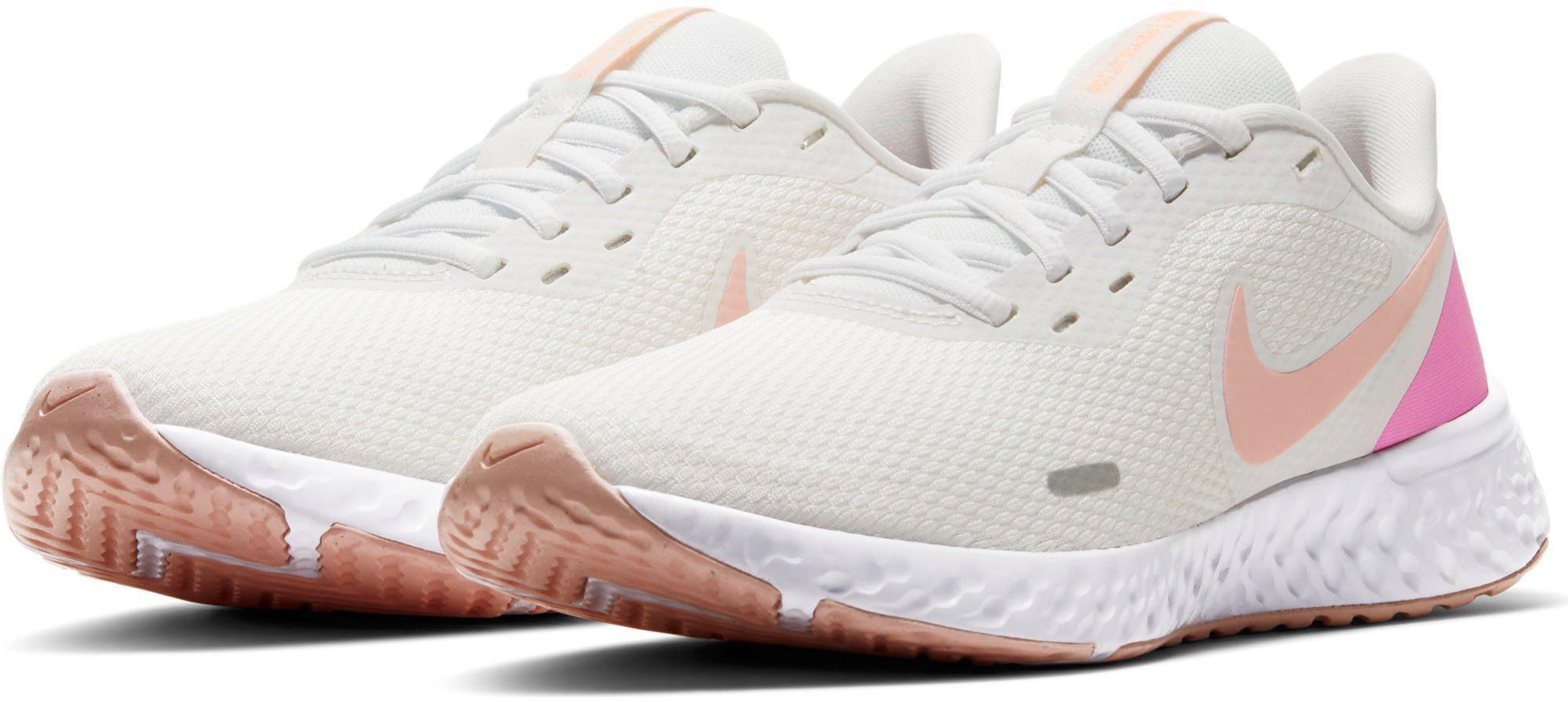 Nike »Wmns Revolution 5« Laufschuh, Leichtes Strickgewebe umhüllt Ihren Fuß mit atmungsaktivem Komfort online kaufen | OTTO