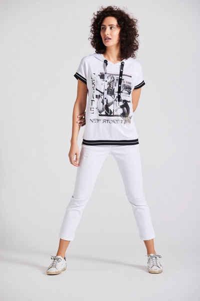 Andijamo-Fashion Kapuzenshirt »NEW STORYS WHITE« mit Kapuze