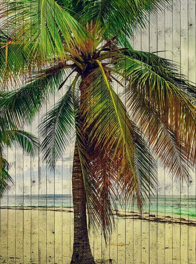 living walls Fototapete »Walls by Patel Tahiti 3«, glatt, (2 St)