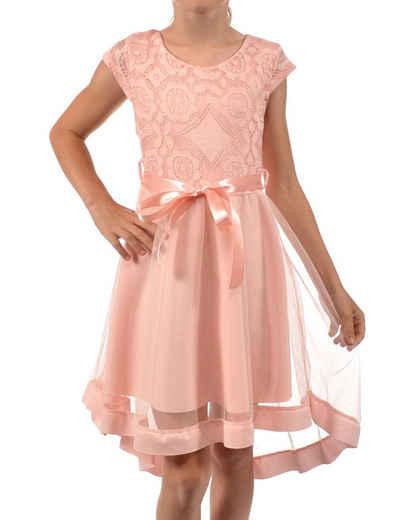 KMISSO Sommerkleid »Mädchen Kleid mit Spitze und Tüll« (1-tlg) bequem zu tragen