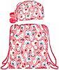 safta Sporttasche »Lama - Sportbeutel und Kosmetiktasche, rosa« (Reißverschluss, Mädchen), Geringes-Gewicht, Bild 1