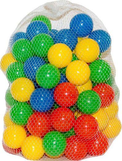 NATIV Spielzeug Bällebad-Bälle, 6 oder 7 cm, einfarbig oder gestreift