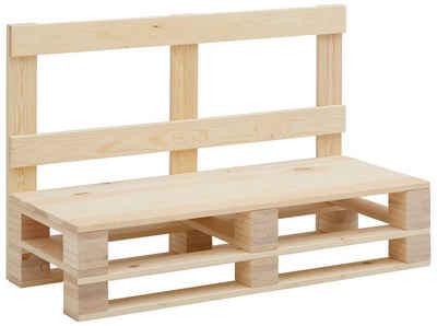 Home affaire Sitzbank »Pinus«, im angesagten Palettendesign