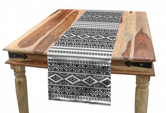 Abakuhaus Tischläufer »Esszimmer Küche Rechteckiger Dekorativer Tischläufer«, Ethnisch Oriental Tribal marokkanisch