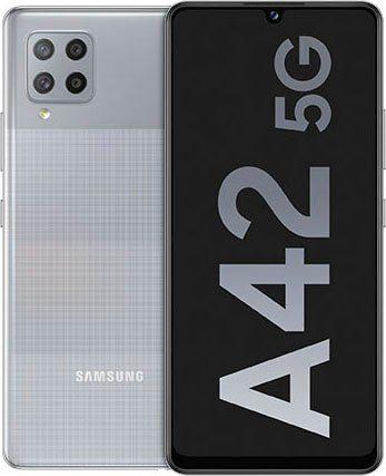 Samsung Galaxy A42 Smartphone (16,76 cm/6,6 Zoll, 128 GB Speicherplatz, 48 MP Kamera)
