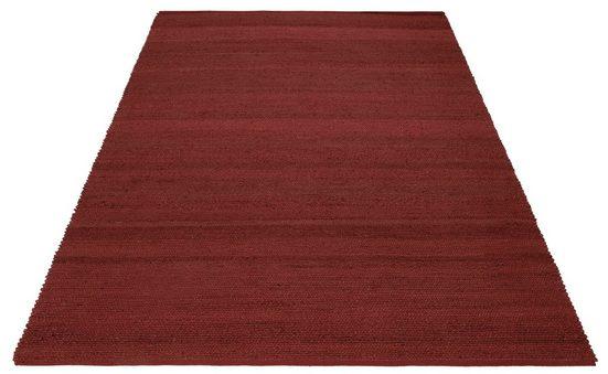 Teppich »Hanf Uni«, Home affaire, rechteckig, Höhe 5 mm