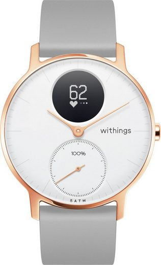 Withings Activity Tracker »STEEL HR 36 mm«