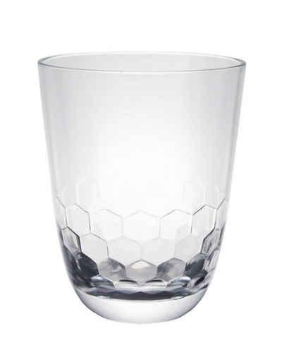 GIMEX Glas »Campinggeschirr Kunststoff Wasserglas Royal transparent 300ml«