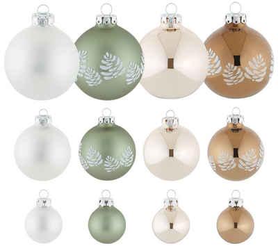 Thüringer Glasdesign Weihnachtsbaumkugel »Nature« (30 Stück)