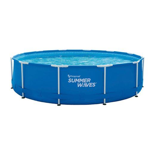 SummerWaves Framepool »Summer Waves Frame Pool 366x84cm Rahmen Schwimmbad Filterpumpe Groß-Pool«, Filterpumpe