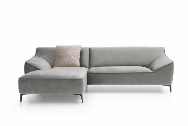 Sofas - KAWOLA Sofa »TUNIA«, Stoff Velvet Recamiere wählbar versch. Farben  - Onlineshop OTTO
