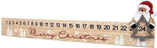 Hotex Wandkalender aus Holz 2020